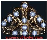 Ap. 12:1 Corona de 12 estrellas